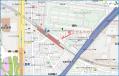 龍王ビルへの地図