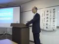 講演会「肝硬変の療養」講師の中村秀次先生