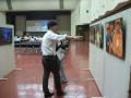 訴訟原告団の闘いパネル展示