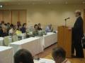 渡辺代表幹事が会集う方針案を提案