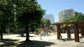 クレオ大阪西に隣接する公園