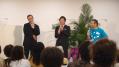 河田先生、オール巨人さん、石田さんのトーク