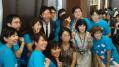 石田純一さんと世界肝炎デーinハルカスのスタッフの皆様