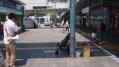 JR和歌山駅前での啓発活動