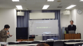 田中斉祐先生の講演が始まる